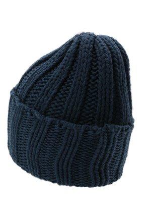 Мужская кашемировая шапка INVERNI синего цвета, арт. 1128 CM | Фото 2