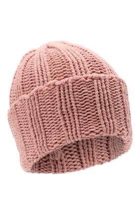 Мужская кашемировая шапка INVERNI розового цвета, арт. 1128 CM | Фото 1