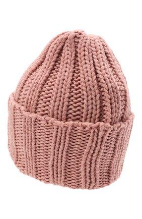 Мужская кашемировая шапка INVERNI розового цвета, арт. 1128 CM | Фото 2
