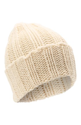 Мужская кашемировая шапка INVERNI кремвого цвета, арт. 1128 CM   Фото 1 (Материал: Шерсть, Кашемир; Кросс-КТ: Трикотаж)