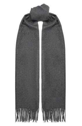 Мужской кашемировый шарф CORNELIANI серого цвета, арт. 88B275-1829016/00   Фото 1