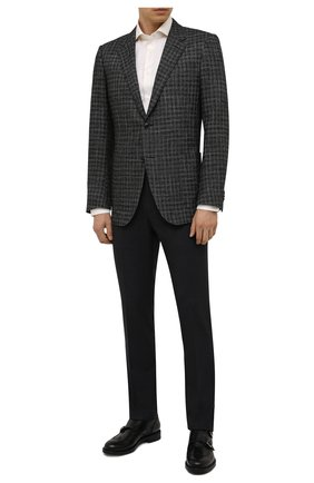 Мужская хлопковая сорочка CORNELIANI кремвого цвета, арт. 88P002-1811624/00 | Фото 2