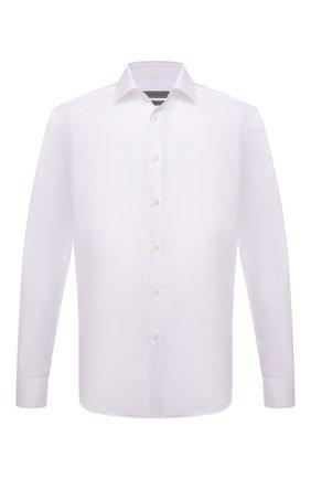 Мужская хлопковая сорочка CORNELIANI белого цвета, арт. 88P010-1811264/00 | Фото 1