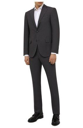 Мужская хлопковая сорочка CORNELIANI белого цвета, арт. 88P010-1811264/00 | Фото 2