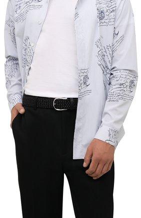 Мужской комбинированный ремень CORNELIANI черного цвета, арт. 88V358-1820834/00 | Фото 2