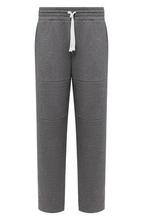 Мужские брюки ERMENEGILDO ZEGNA серого цвета, арт. N6N001130 | Фото 1
