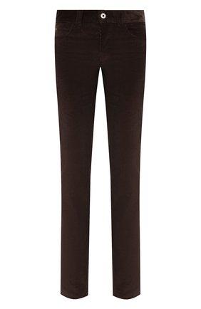 Мужские хлопковые брюки LORO PIANA коричневого цвета, арт. FAI2480 | Фото 1 (Материал внешний: Хлопок; Случай: Повседневный; Стили: Кэжуэл; Длина (брюки, джинсы): Стандартные)