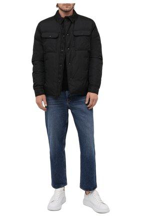 Мужская пуховая куртка miomandre MONCLER черного цвета, арт. G2-091-1A001-09-68352 | Фото 2