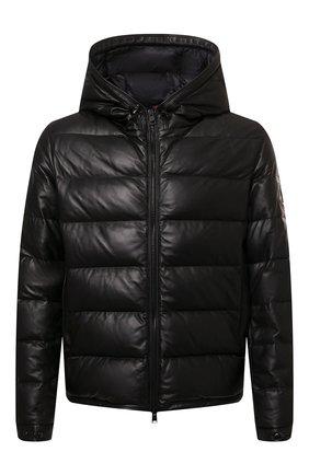Мужская пуховая куртка gebroulaz MONCLER черного цвета, арт. G2-091-1A001-01-50118 | Фото 1