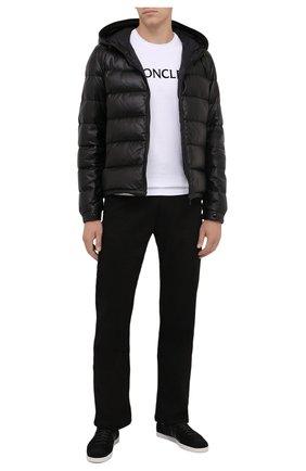 Мужская пуховая куртка gebroulaz MONCLER черного цвета, арт. G2-091-1A001-01-50118 | Фото 2