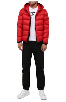 Мужская пуховая куртка myosotis MONCLER красного цвета, арт. G2-091-1A000-97-53334 | Фото 2