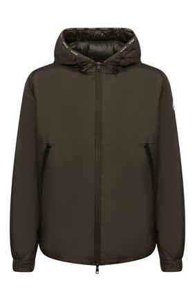 Мужская пуховая куртка laurain MONCLER хаки цвета, арт. G2-091-1A000-53-68352 | Фото 1