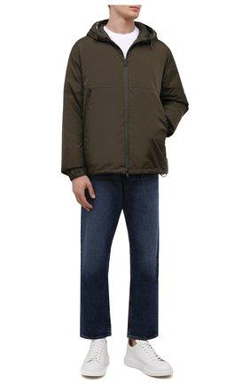 Мужская пуховая куртка laurain MONCLER хаки цвета, арт. G2-091-1A000-53-68352 | Фото 2
