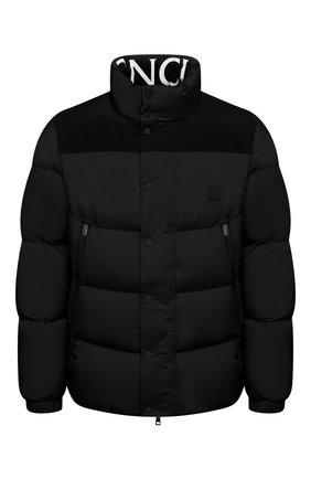 Мужская пуховая куртка timsit MONCLER черного цвета, арт. G2-091-1A000-33-53333 | Фото 1