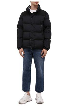 Мужская пуховая куртка timsit MONCLER черного цвета, арт. G2-091-1A000-33-53333 | Фото 2