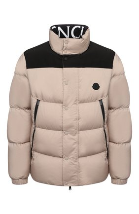 Мужская пуховая куртка timsit MONCLER бежевого цвета, арт. G2-091-1A000-33-53333   Фото 1