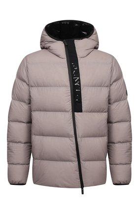 Мужская пуховая куртка giraud MONCLER серого цвета, арт. G2-091-1A000-22-53A6J | Фото 1 (Материал утеплителя: Пух и перо; Длина (верхняя одежда): Короткие; Материал подклада: Синтетический материал; Рукава: Длинные; Материал внешний: Синтетический материал; Кросс-КТ: Куртка; Мужское Кросс-КТ: пуховик-короткий; Стили: Кэжуэл)