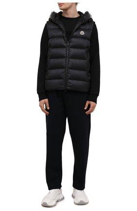 Мужской пуховый жилет montreuil MONCLER черного цвета, арт. G2-091-1A000-18-53048 | Фото 2