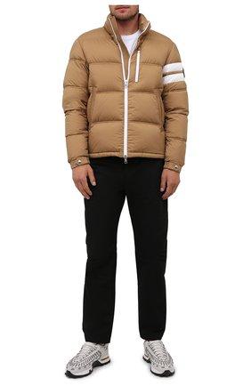 Мужская пуховая куртка delaume MONCLER бежевого цвета, арт. G2-091-1A000-05-53333 | Фото 2