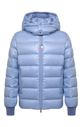 Мужская пуховая куртка cuvellier MONCLER голубого цвета, арт. G2-091-1A000-02-68950 | Фото 1