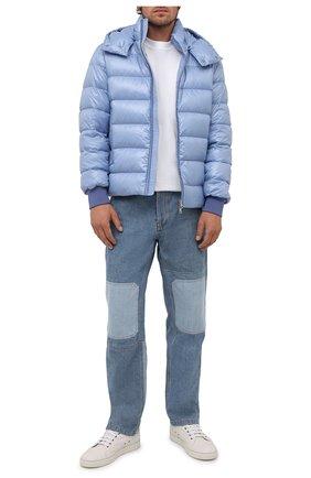 Мужская пуховая куртка cuvellier MONCLER голубого цвета, арт. G2-091-1A000-02-68950 | Фото 2