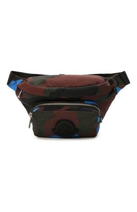 Мужская текстильная поясная сумка durance MONCLER разноцветного цвета, арт. G2-09A-5M702-00-02T06   Фото 1