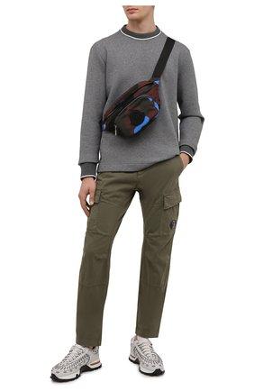 Мужская текстильная поясная сумка durance MONCLER разноцветного цвета, арт. G2-09A-5M702-00-02T06   Фото 2