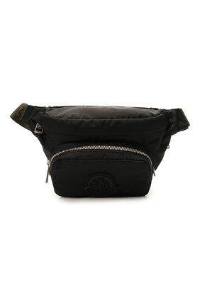 Мужская текстильная поясная сумка durance MONCLER черного цвета, арт. G2-09A-5M702-00-02SZK | Фото 1 (Ремень/цепочка: На ремешке; Материал: Текстиль)