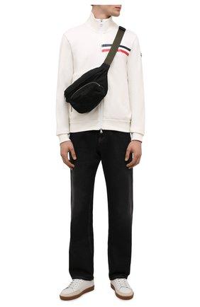 Мужская текстильная поясная сумка durance MONCLER черного цвета, арт. G2-09A-5M702-00-02SZK | Фото 2 (Ремень/цепочка: На ремешке; Материал: Текстиль)