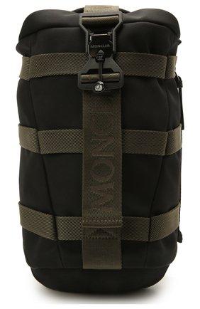 Мужской текстильный рюкзак argens mono MONCLER черного цвета, арт. G2-09A-5A705-00-02SKQ | Фото 1 (Материал: Текстиль; Ремень/цепочка: На ремешке)