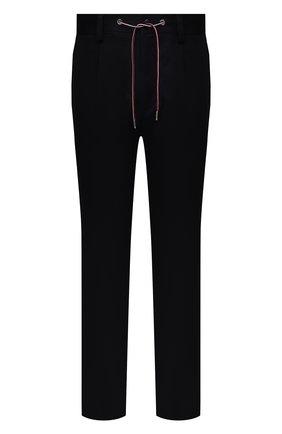 Мужские хлопковые брюки MONCLER темно-синего цвета, арт. G2-091-2A000-05-54A1U | Фото 1