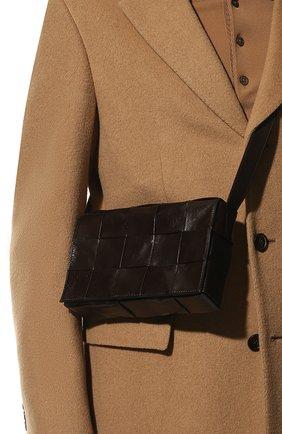 Мужская сумка cassette BOTTEGA VENETA коричневого цвета, арт. 667298/VCQ71 | Фото 2