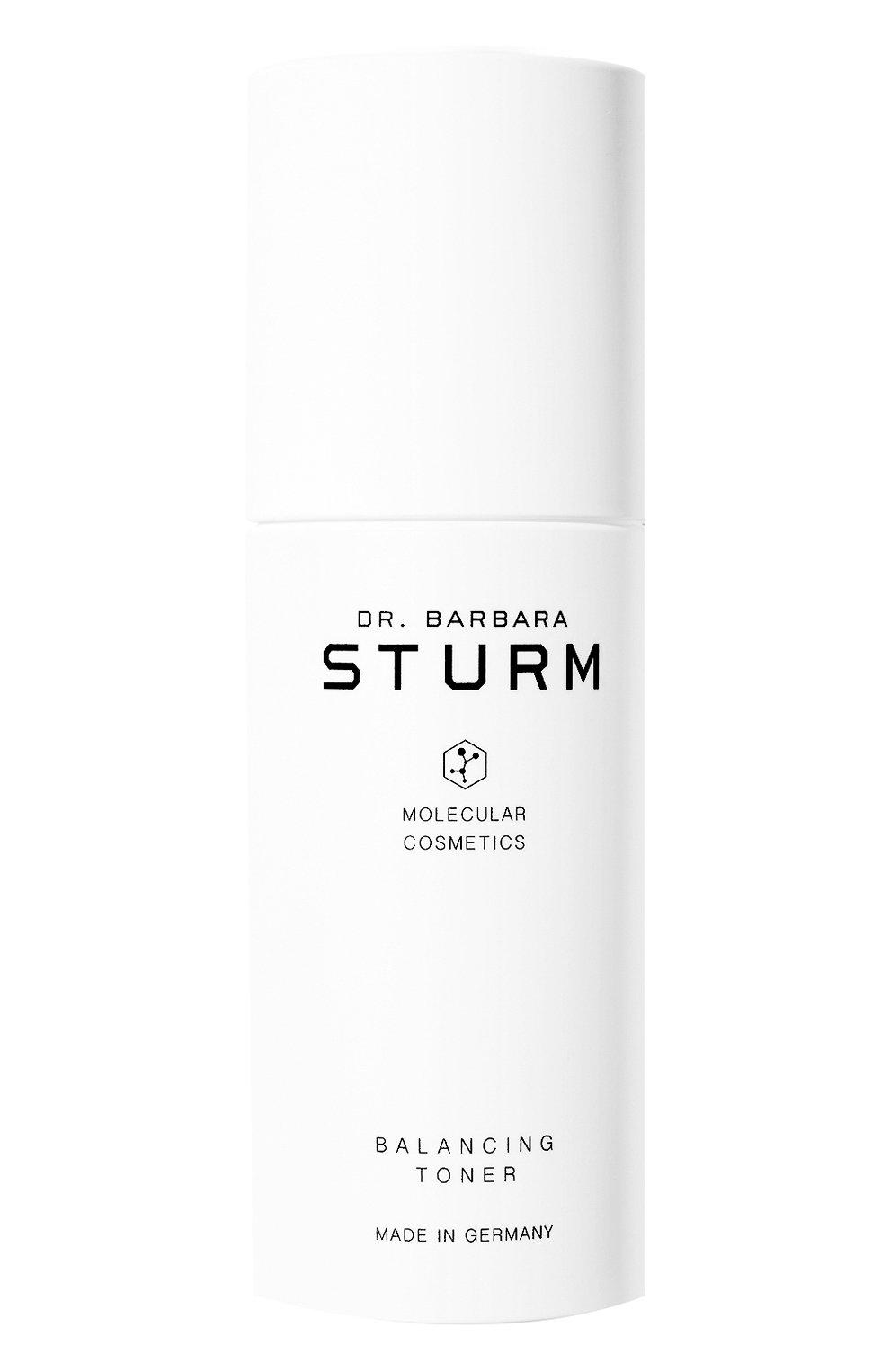 Увлажняющий и освежающий балансирующий тоник для лица balancing toner DR. BARBARA STURM бесцветного цвета, арт. 4260521261489 | Фото 1