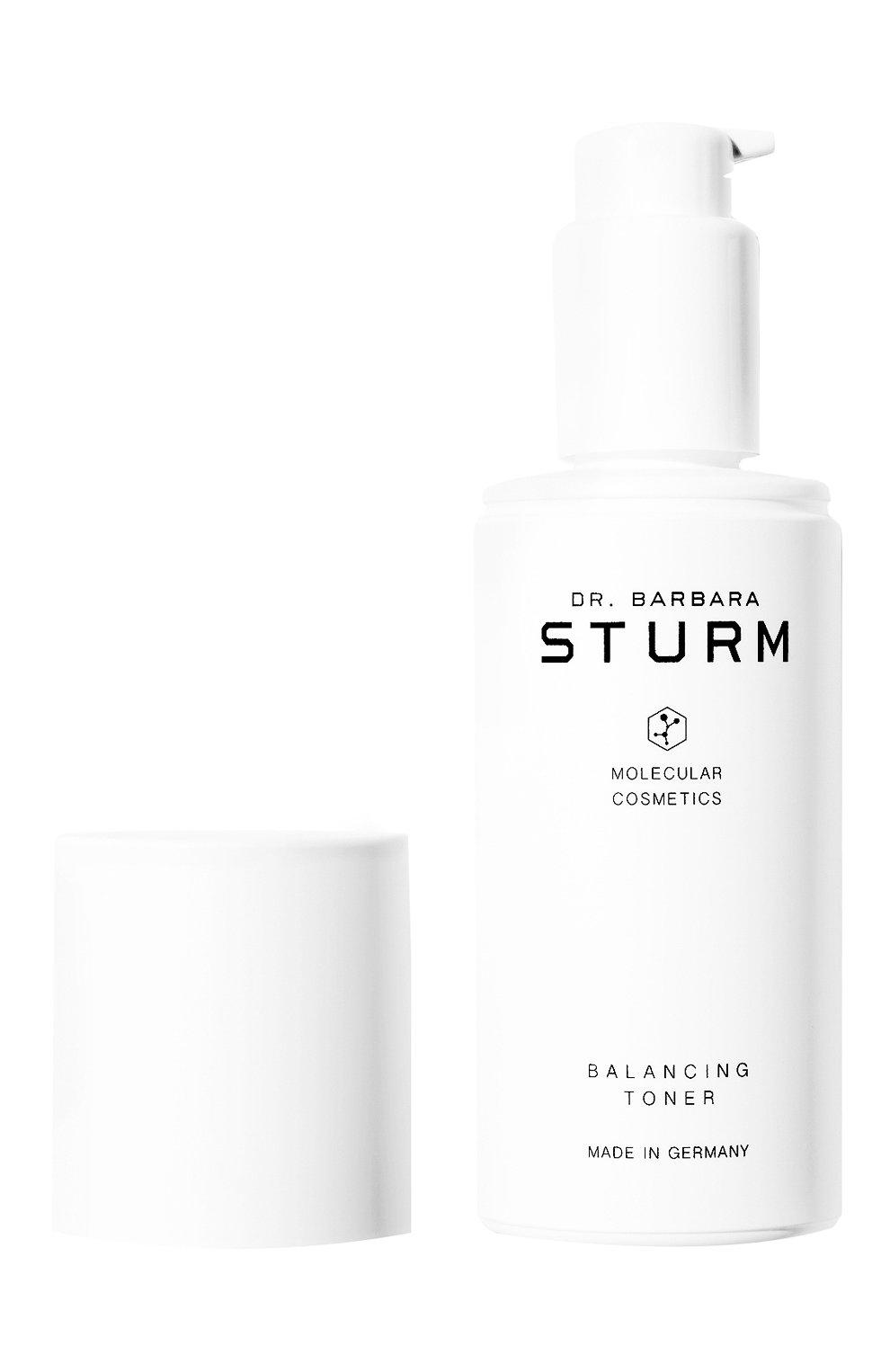Увлажняющий и освежающий балансирующий тоник для лица balancing toner DR. BARBARA STURM бесцветного цвета, арт. 4260521261489 | Фото 2