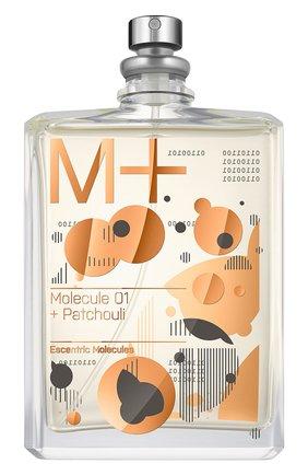 Туалетная вода m+ molecule 01 + patchouli ESCENTRICMOLECULES бесцветного цвета, арт. 5060103310685 | Фото 1 (Ограничения доставки: flammable)