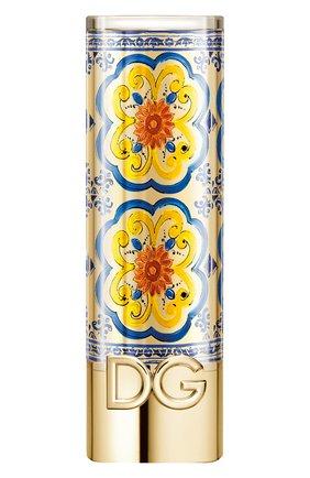 Футляр для губной помады the only one majolica DOLCE & GABBANA бесцветного цвета, арт. 30701204DG   Фото 1
