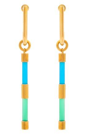 Женские серьги CRYSTALLINE JEWELLERY разноцветного цвета, арт. 372А | Фото 1