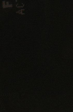 Женские носки FALKE черного цвета, арт. 46423 | Фото 2 (Материал внешний: Синтетический материал, Растительное волокно)