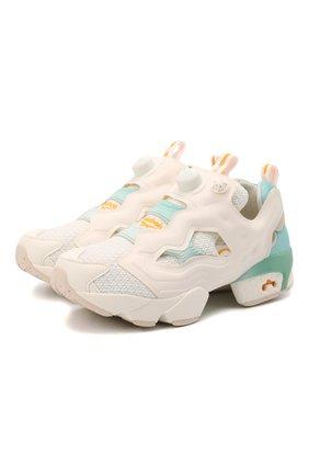 Женские комбинированные кроссовки instapump fury og REEBOK разноцветного цвета, арт. G55115 | Фото 1