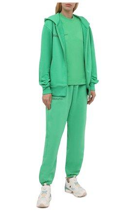 Женские комбинированные кроссовки instapump fury og REEBOK разноцветного цвета, арт. G55115 | Фото 2