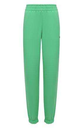 Женские хлопковые джоггеры ADIDAS ORIGINALS зеленого цвета, арт. H09162 | Фото 1