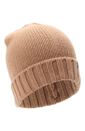 Женская кашемировая шапка MOORER коричневого цвета, арт. VETTA-CWS/M0DMA100023-TEPA177 | Фото 1