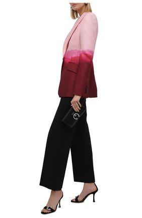 Женские замшевые босоножки marsai 90 JIMMY CHOO черного цвета, арт. MARSAI 90/UCB | Фото 2