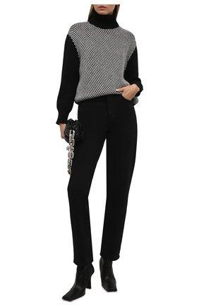 Женский кашемировый свитер KITON черного цвета, арт. D52760X0479A   Фото 2 (Материал внешний: Шерсть, Кашемир; Длина (для топов): Стандартные; Рукава: Длинные; Стили: Кэжуэл; Женское Кросс-КТ: Свитер-одежда)