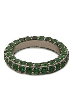 Женское кольцо LEVASHOVAELAGINA зеленого цвета, арт. alyona/r | Фото 1