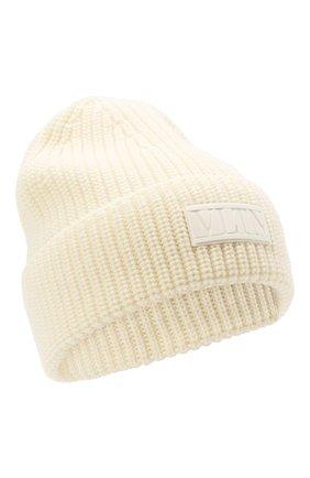 Мужская шерстяная шапка VALENTINO кремвого цвета, арт. WY2HB00R/RNM   Фото 1