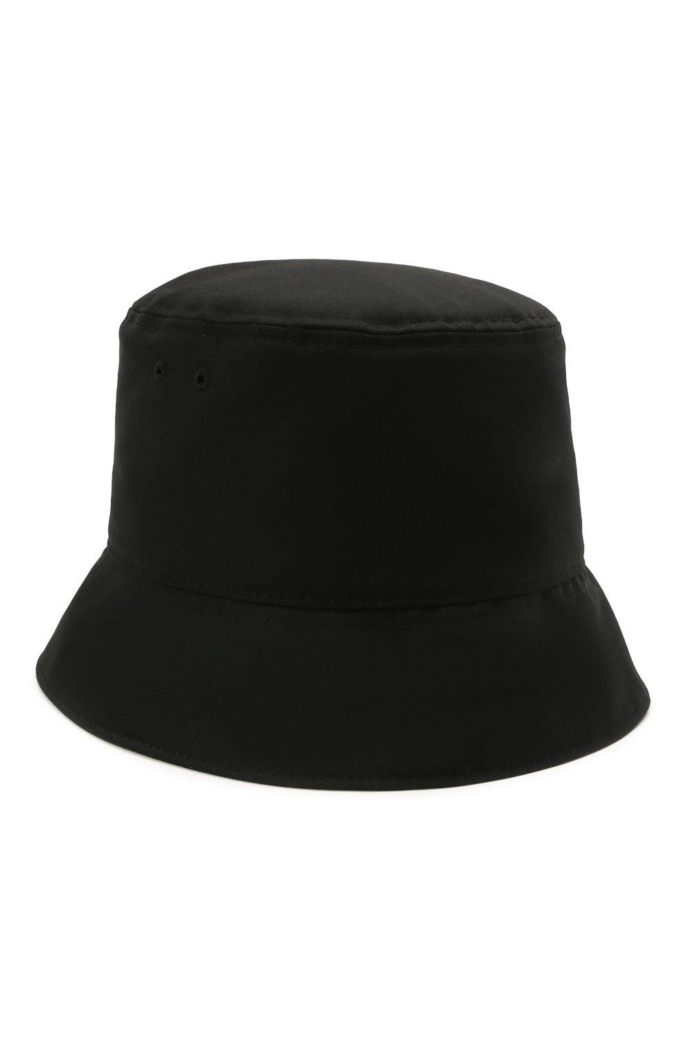 Мужская хлопковая панама VALENTINO черного цвета, арт. WY2HGA11/MEX   Фото 1 (Материал: Текстиль, Хлопок)