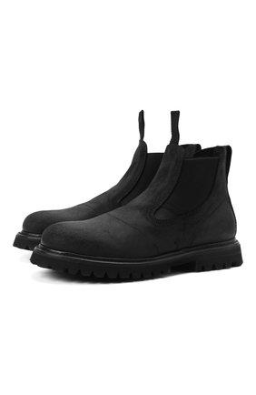 Мужские кожаные челси PREMIATA черного цвета, арт. 31915/ANDER | Фото 1