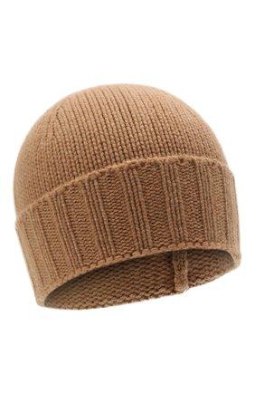 Мужская кашемировая шапка GRAN SASSO светло-коричневого цвета, арт. 10186/15529   Фото 1