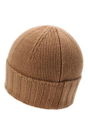 Мужская кашемировая шапка GRAN SASSO светло-коричневого цвета, арт. 10186/15529   Фото 2